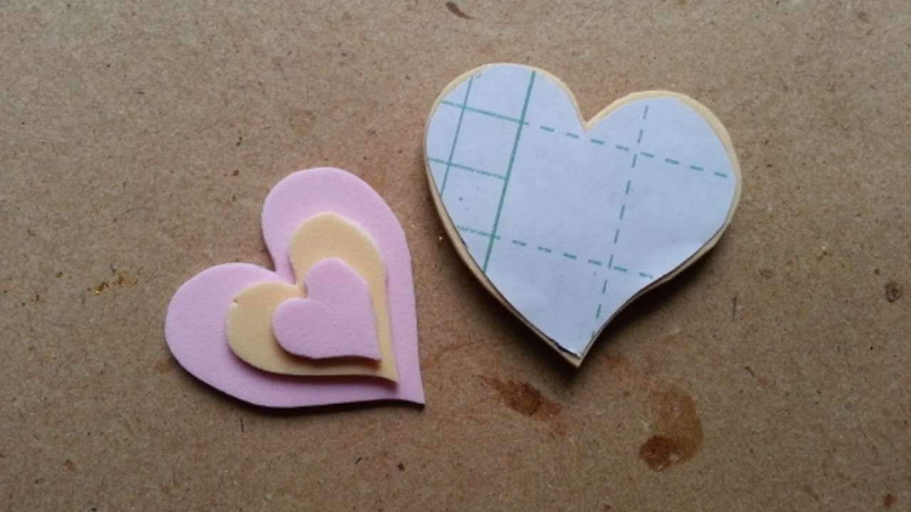 How To Make Cute Foam Heart Stickers - DIY Crafts Tutorial - Guidecentral