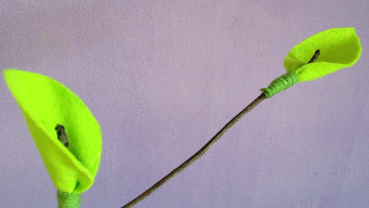 How To Make Felt Leaves On Twig Branches - DIY Crafts Tutorial - Guidecentral