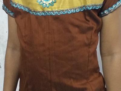 How to make Lehenga top cutting and stitching(DIY)
