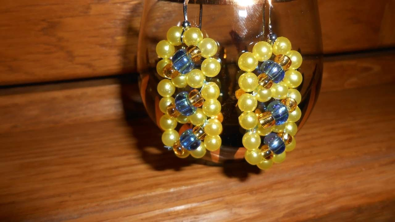 How To Make Long Beaded Earrings - DIY Style Tutorial - Guidecentral