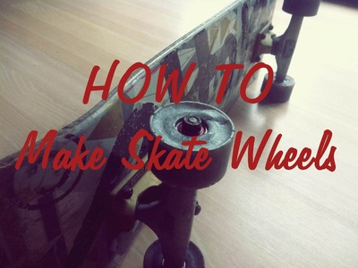 How to make skate.longboard wheels - Tutorial