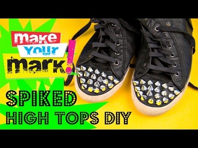 How to: Make Spiked High Tops
