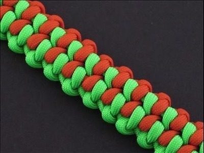 How to Make the Handle Bar (Paracord) Bracelet by TIAT