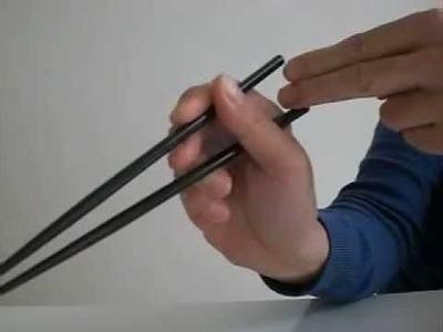 How to use chopsticks. japan