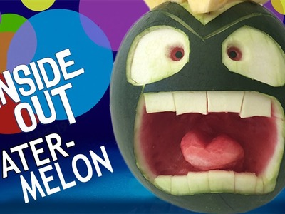 INSIDE OUT WATERMELON CARVING ANGER How To Cook That Reardon