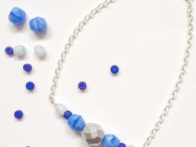 Make a Dainty Chain and Bead Bracelet - DIY Style - Guidecentral