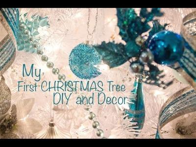 My First Christmas Tree DIY & Decor