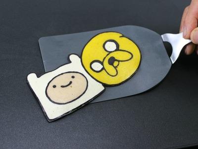 Pancake Art - Finn and Jake (Adventure Time) by Tiger Tomato