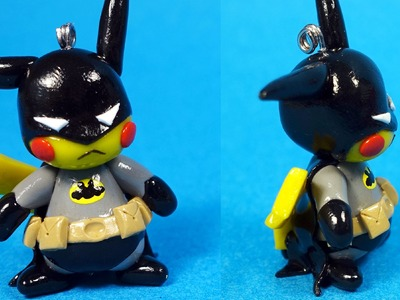 Pikachu Batman Polymer Clay Tutorial