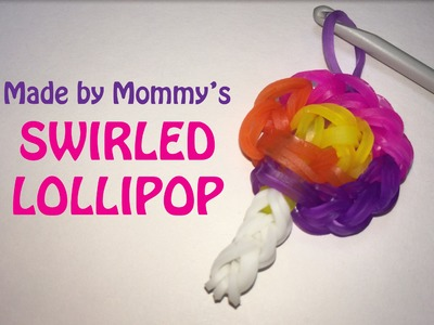 Swirled Lollipop Candy Charm Without the Rainbow Loom