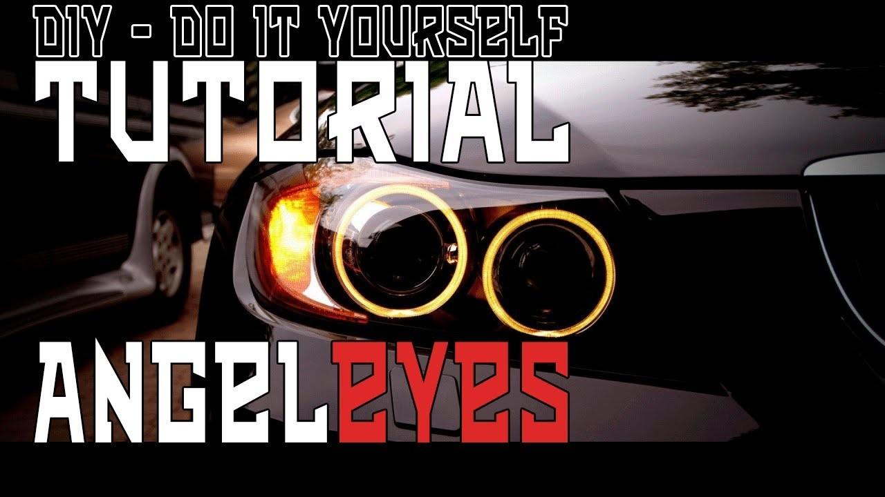 ** TUTORIAL ** - Angel Eye self custruction - ANGEL EYE HOMEMADE - How To Create Custom Angel Eye