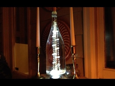 Upcycled Wine Bottles into Table Lamps - Ep4 part2