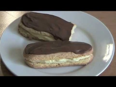 10 Minute Cheater's Chocolate Eclairs - RECIPE