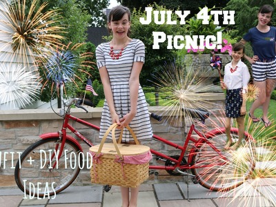 4th of July Picnic! Outfits Ideas + DIY Food!
