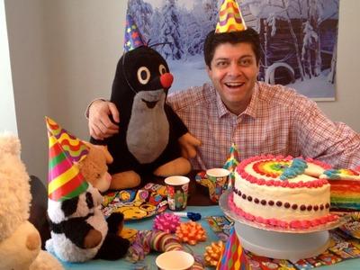 AMAZING RAINBOW CAKE RECIPE, HOW TO MAKE RAINBOW CAKE FOR CHILDREN