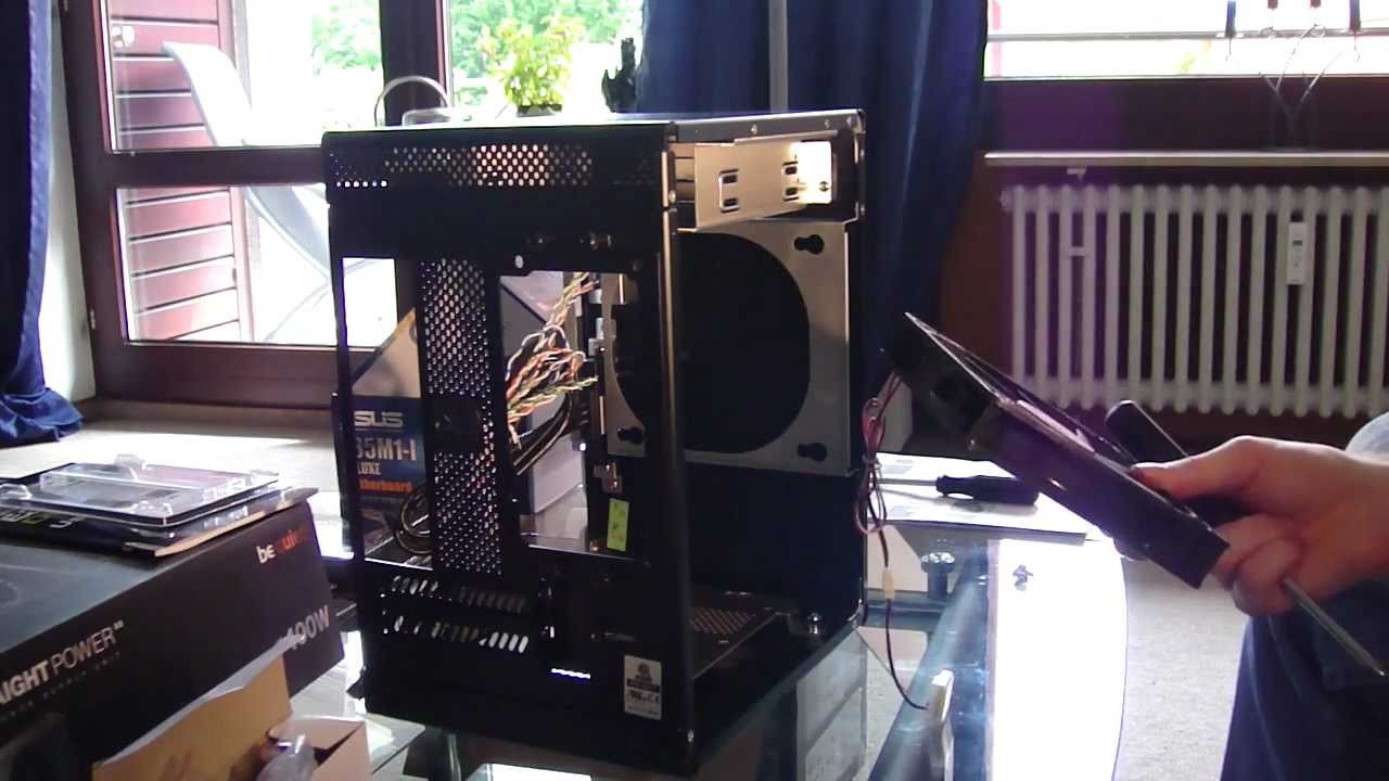 AMD E-350. GF GT 430 24.7 CUDA pc build - assembling