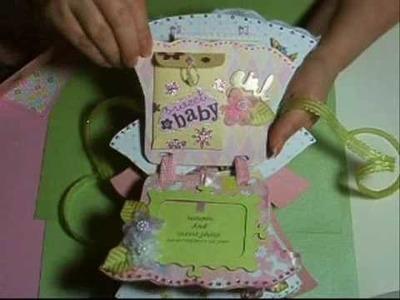 *~* Baby girl mini book gift ~*~