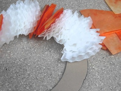 Coffee Filter Wreath For Fall