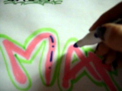 Como decorar letras by laura (2)