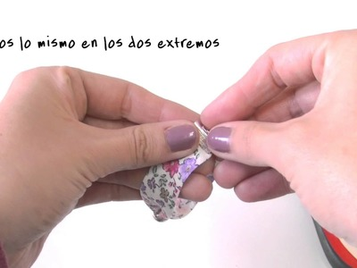 Companion Video 1 DIY - Pulsera de tela con pieza central