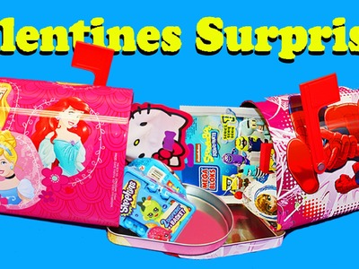 Disney Princess Mailbox SURPRISE TOYS Elsa Anna BFFs Spiderman & Fashems by DisneyCarToys