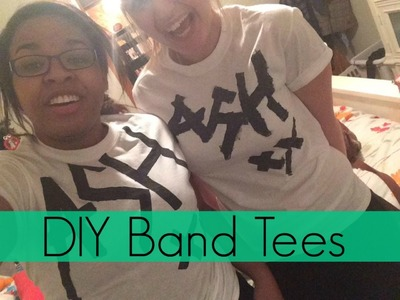 DIY Band Tees: 5 Seconds of Summer