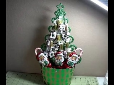 DIY~Cute & Inexpensive Dollar Candy Tree For Christmas!