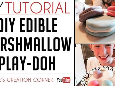 DIY Edible Marshmallow Play-Doh   Edible Play Dough