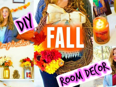 DIY Fall Room Decor & Inspiration ♡ 2015