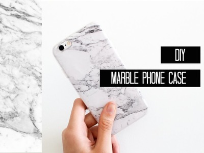 DIY: Marble Phone case