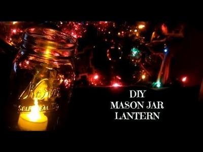 DIY Mason Jar Lantern