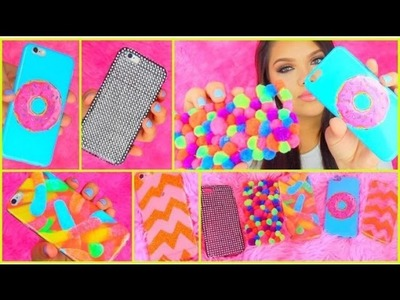 DIY Tumblr Inspired Phone Cases! (Gummy Worms, Donuts & More)