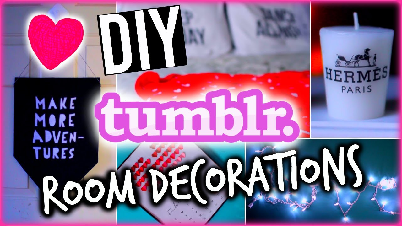 DIY Tumblr Inspired Valentine's Day Room Decor With HayleyWi11iams!