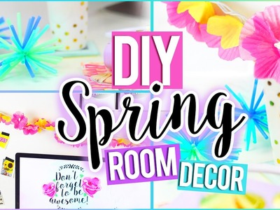 DIY Tumblr SPRING Room Decor! ❁ Easy & Affordable