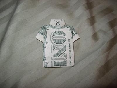 Dollar Origami: Collared Shirt
