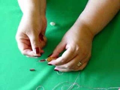 Enhebrado de la aguja para bordado en relieve o punchneedle
