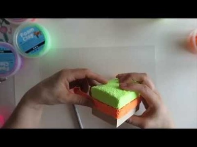 Foam Clay, en härlig DIY pyssel