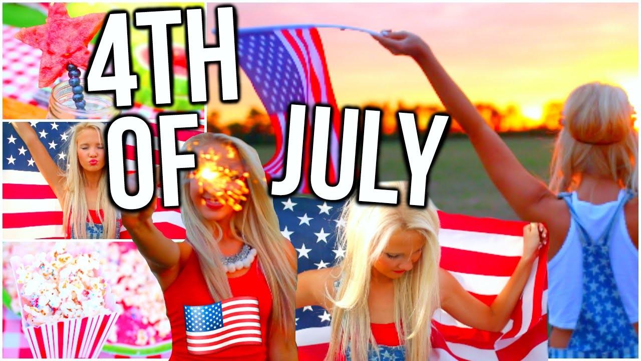 Fourth of July DIY Snacks & Treats, DIY Room Decor & Outfit Ideas!