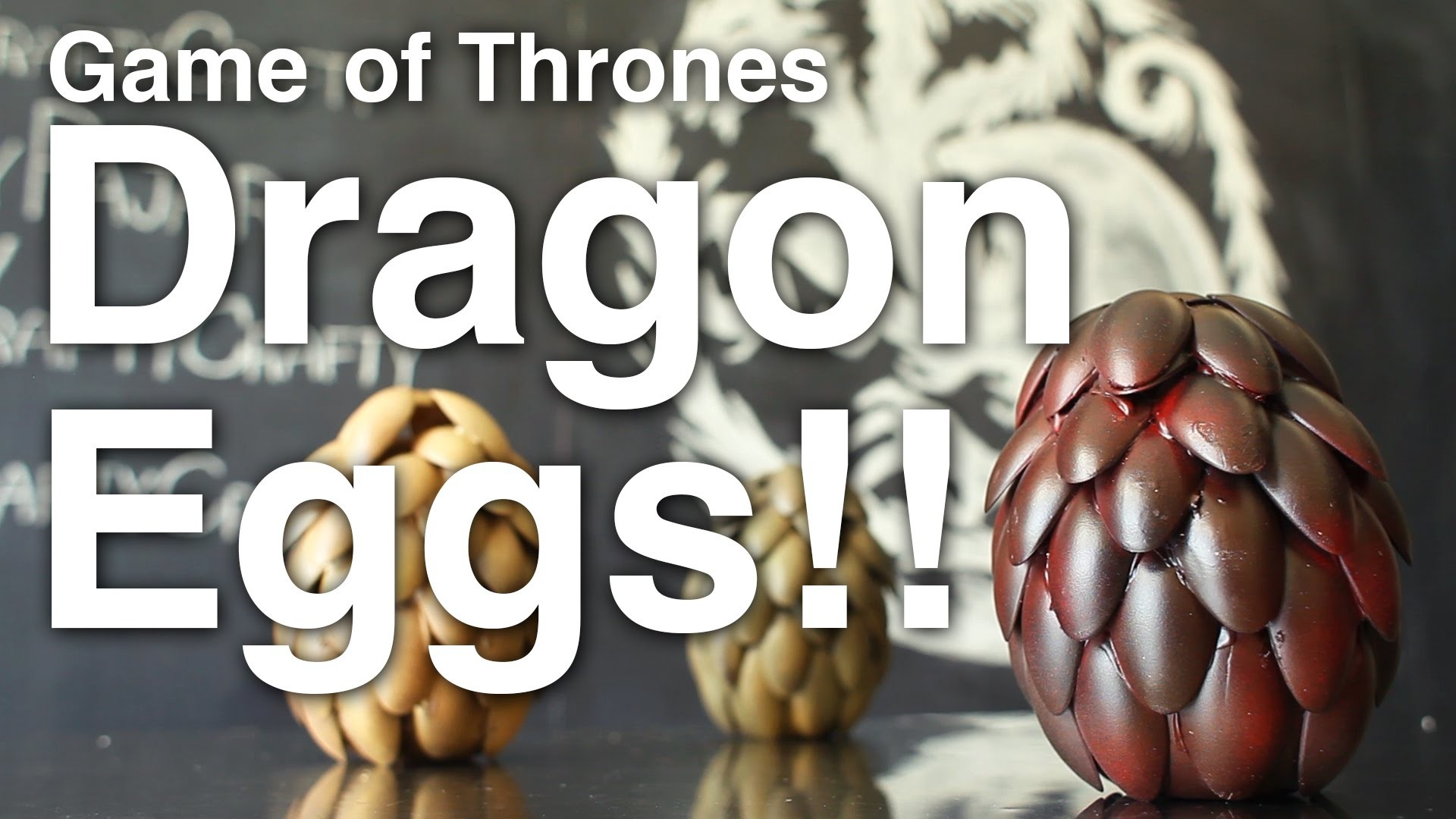 Game of Thrones Dragon Eggs!! + Giveaway!! [CLOSED]