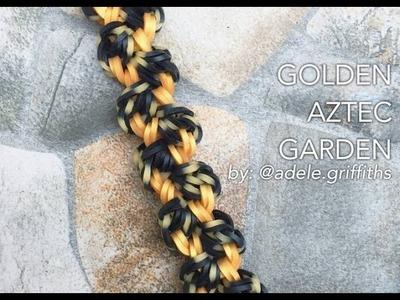 GOLDEN AZTEC GARDEN Hook Only bracelet design