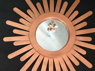 How To Create An Easy Sunburst Mirror - DIY Home Tutorial - Guidecentral
