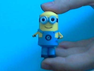 How to make 3d Quiling 2 eye  Minion part2