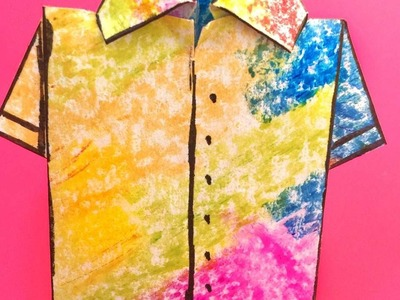 How To Make A Summer Paper Shirt - DIY Crafts Tutorial - Guidecentral
