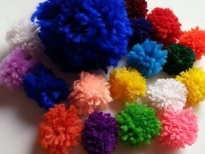 How To Make Adorable Yarn Pompoms  - DIY Crafts Tutorial - Guidecentral