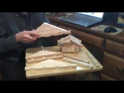 How to make American Logs Part 3 Gables