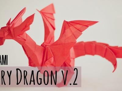 How to make an origami Fiery Dragon v.2 (Kade Chan)