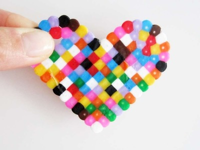 How To Make Colorful Hama Beads Magnets - DIY Crafts Tutorial - Guidecentral