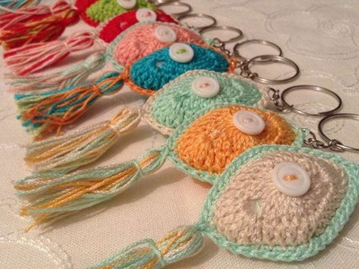 How To Make Creative Crochet Keychains - DIY Crafts Tutorial - Guidecentral