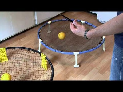 How to make DIY SpikeBall Set as seen on Shark Tank do it yourself build
