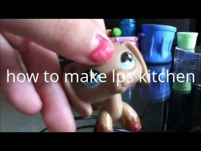 How to make lps (beds,salon,and kitchen)